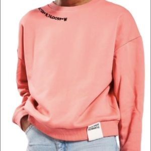 Topshop romantic sweatshirt